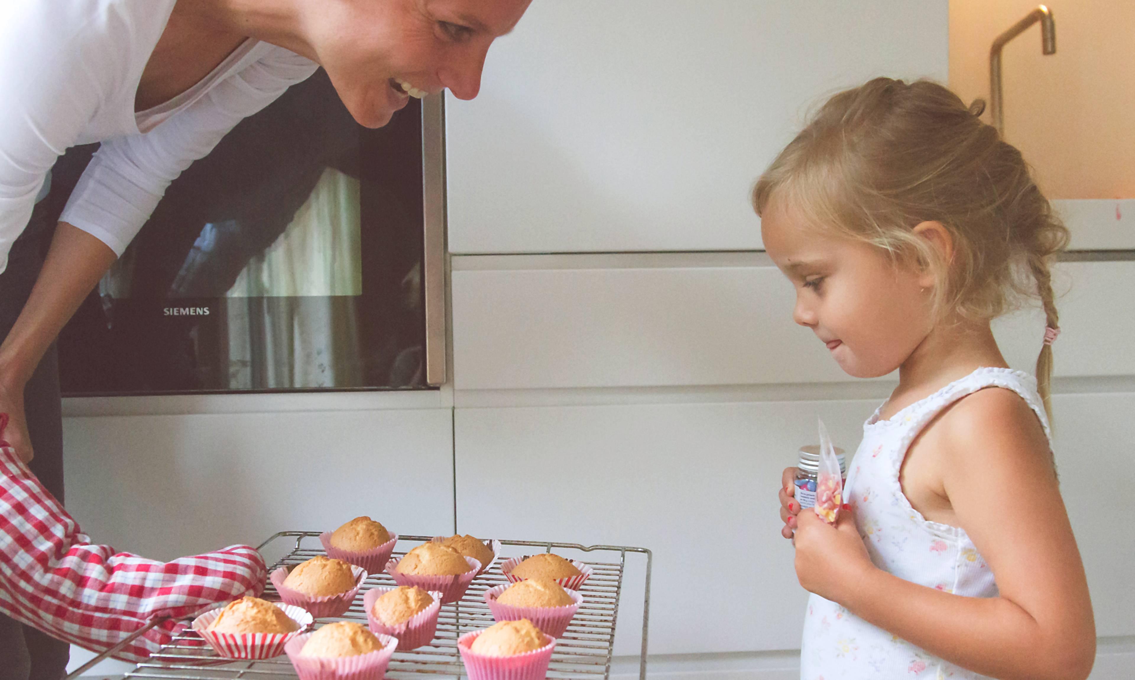 Home, cupcakes gebakken